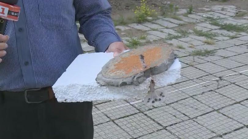 снимка 1 Защо падна изолацията на Гимназията по битова техника в Пловдив?