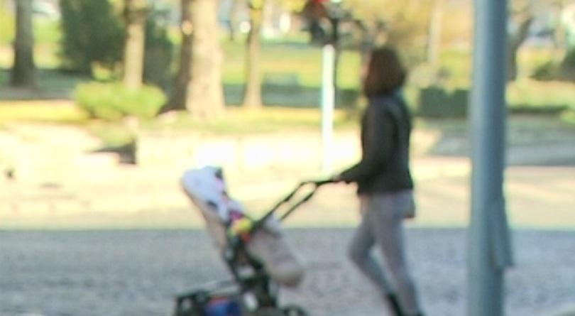 Изоставено бебе е било открито снощи в столичния квартал Люлин.