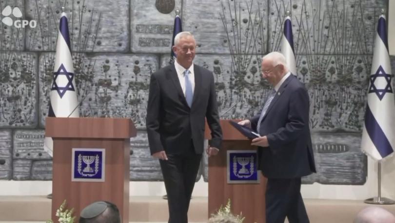 Бившият военен Бени Ганц получи мандат за съставяне на правителство