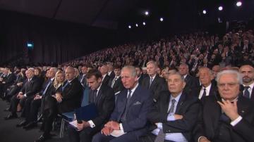 Президентът Радев участва в церемонията за възпоменание на Холокоста