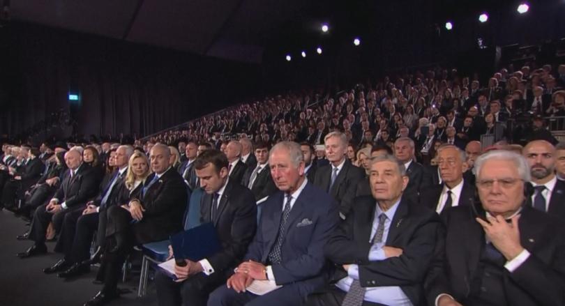 Близо 50 лидери от цял свят участваха в церемонията в