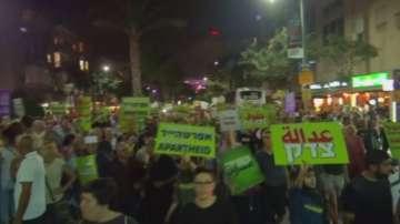 Протести в Тел Авив заради Закона за национална държава