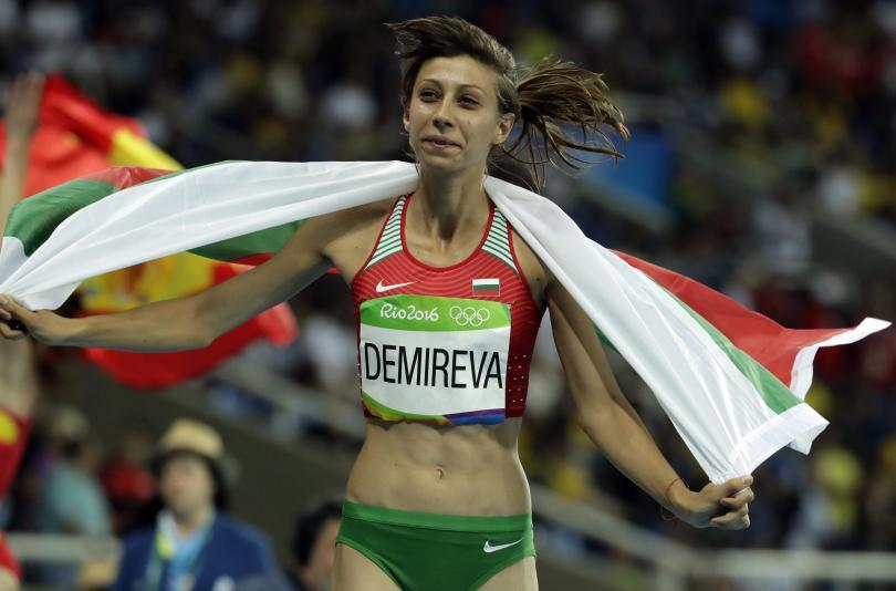 снимка 2 Олимпийско сребро от Рио за Мирела Демирева!
