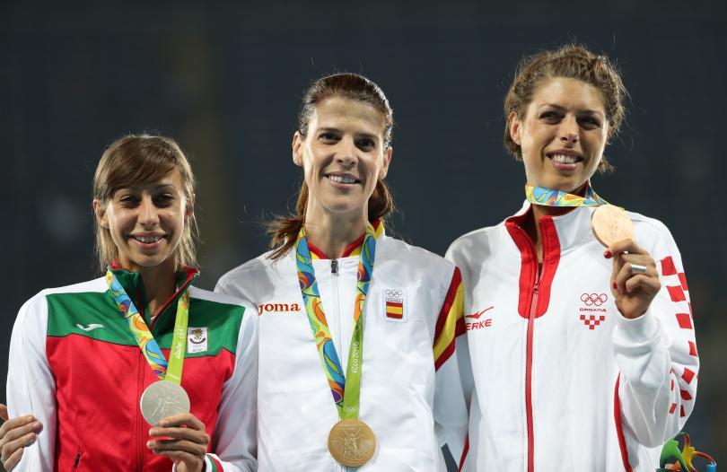 снимка 3 Олимпийско сребро от Рио за Мирела Демирева!