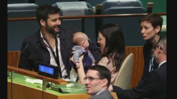 Сензацията на срещата на ООН: Премиерът на Нова Зеландия и бебето й