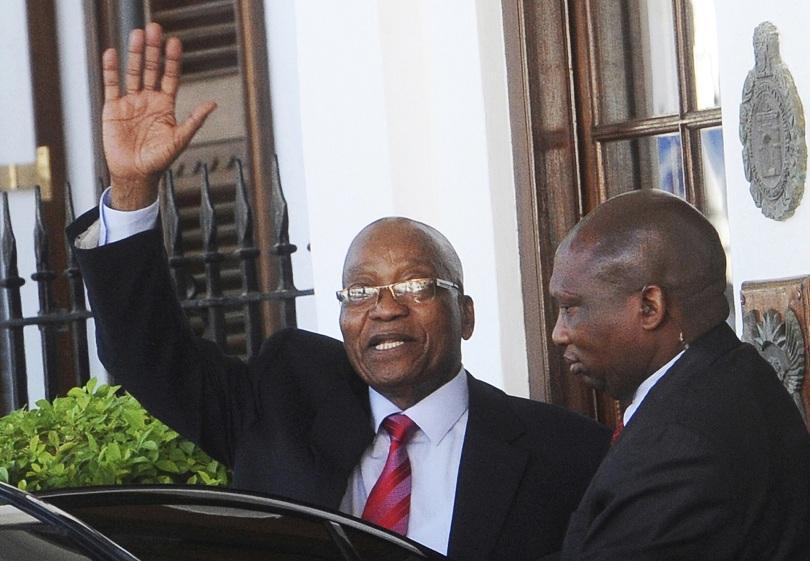 поискаха оставката президента република южна африка