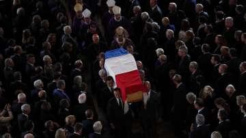 Световни лидери се поклониха пред Жак Ширак