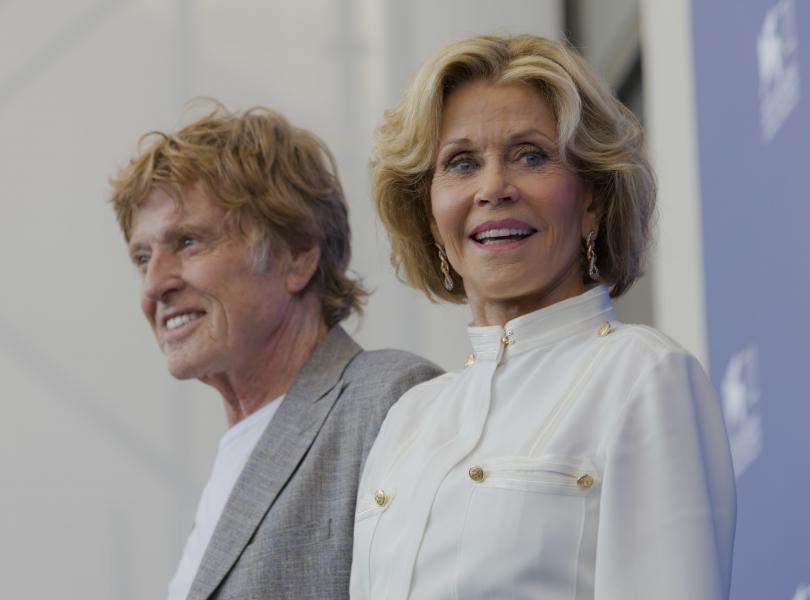 Американската кинодива Джейн Фонда получи наградата Люмиер на кинофестивала Люмиер,
