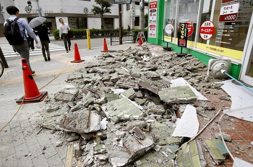 Земетресение с магнитут 5,9 разтърси западна Япония. Властите в Осака
