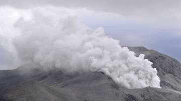 Активизира се вулкан в Япония