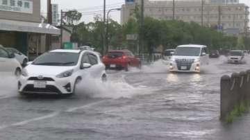 Наводнения в части от Япония