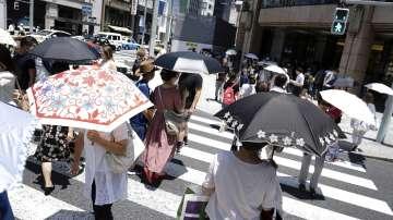 Над 70 хиляди души са били хоспитализирани заради горещото време в Япония