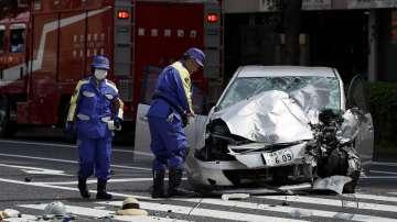 Автомобил се вряза в група деца в Япония