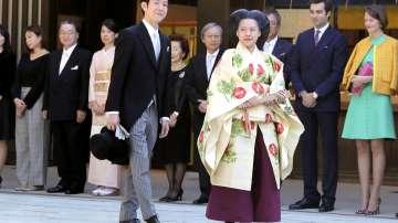 Японската принцеса Аяко се омъжи за бизнесмен