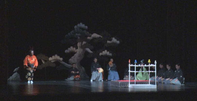 Изисканото изкуство на древния японски театър