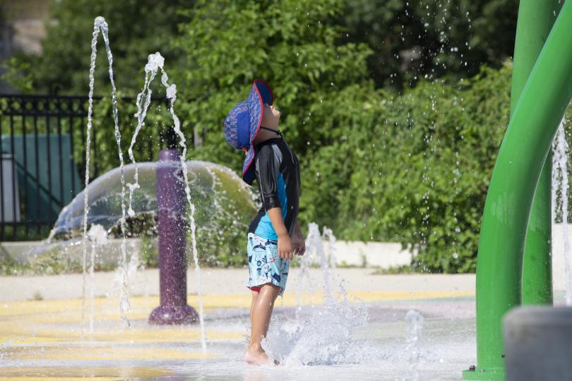 половината жители сащ застрашени жегите