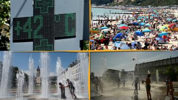 Екстремно време в Западна Европа: Живакът удари над 45 градуса