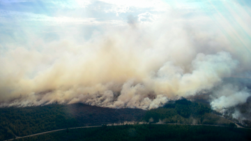 Швеция остава в плен на унищожителни горски пожари, които бушуват над седмица
