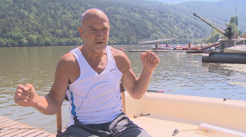 70-годишният олимпийски медалист Иван Манев е познат с прозвището Железния