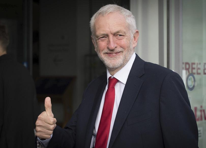 Лидерът на британската опозиционна Лейбъристка партия Джереми Корбин заяви днес,