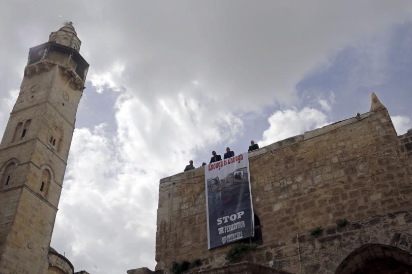 храмът божи гроб ерусалим остава затворен
