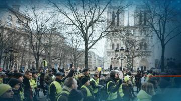 Пореден протест на жълтите жилетки - на прицел са френските банки