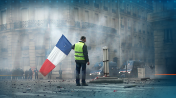 Френският президент ще обяви мерки за преодоляване на кризата