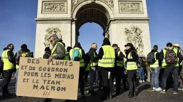 За поредна събота жълти жилетки на протест в Париж