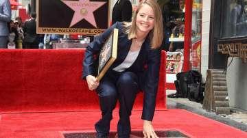 Джоди Фостър със звезда на Алеята на славата