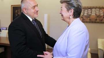Борисов пред еврокомисаря по вътрешни работи: Миграционният натиск намалява