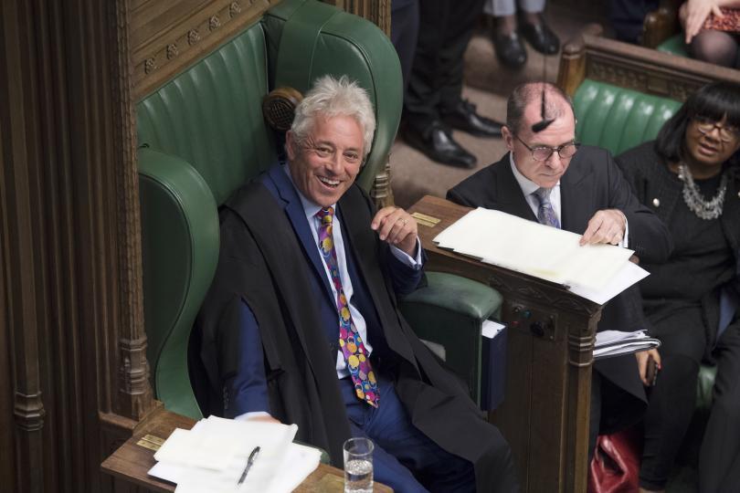 Председателят на Камарата на общините на Великобритания Джон Бъркоу заяви