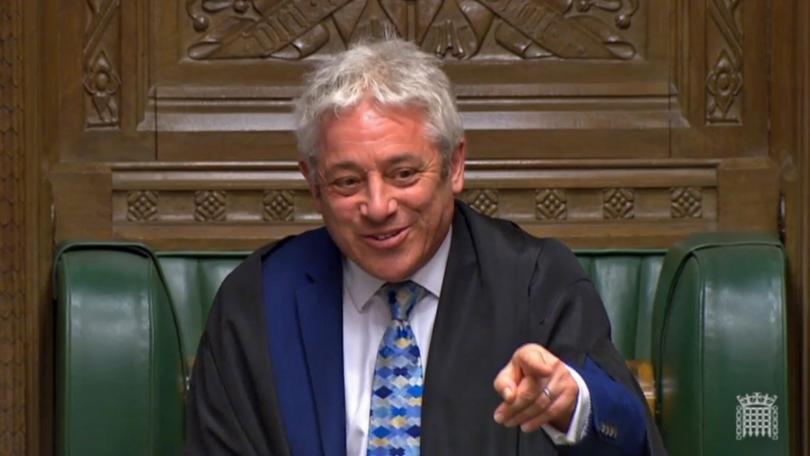 Председателят на Британския парламент Джон Бъркоу