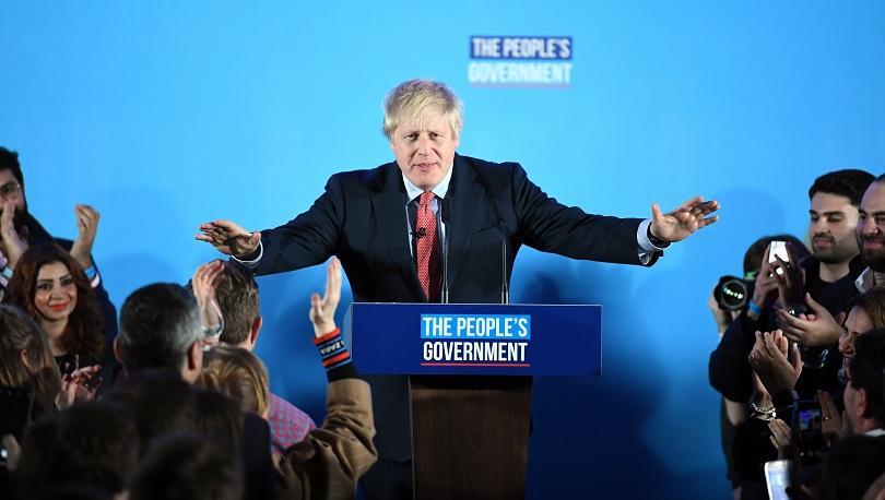 В Лондон победителят в изборите Борис Джонсън обеща да работи