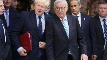 Жан-Клод Юнкер и Борис Джонсън се срещнаха в Люксембург