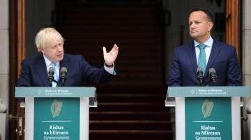 Борис Джонсън се срещна с ирландския си колега Лио Варадкар