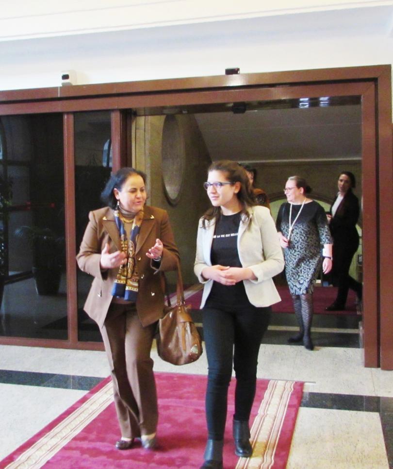 снимка 1 Вицепрезидентът Илияна Йотова се срещна с дами посланици у нас