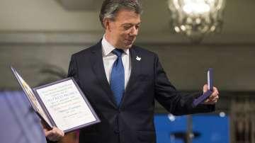 Хуан Мануел Сантос получи Нобелова награда за мир