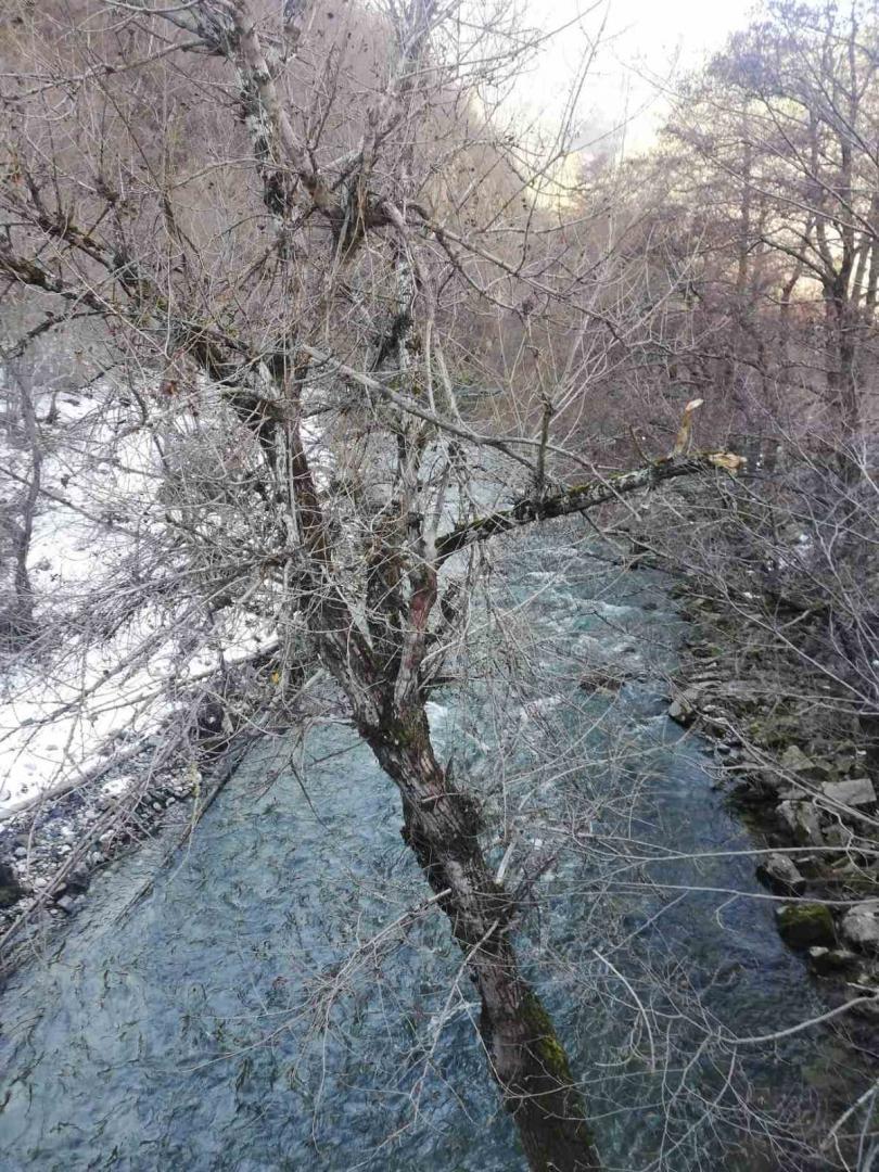 снимка 2 Взимат трета проба за тежки метали от водите на реките Юговска и Чепеларска