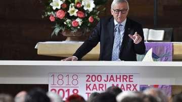 Жан-Клод Юнкер в Трир по случай 200 години от рождението на Карл Маркс