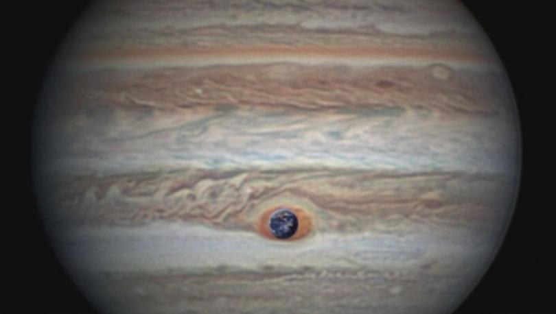 Най-голямата планета в Слънчевата система - Юпитер, се намира в