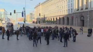 Журналисти излязоха на протест в защита на свободното слово