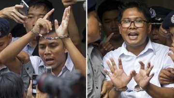 Журналисти на Ройтерс бяха осъдени в Мианма на 7 години затвор