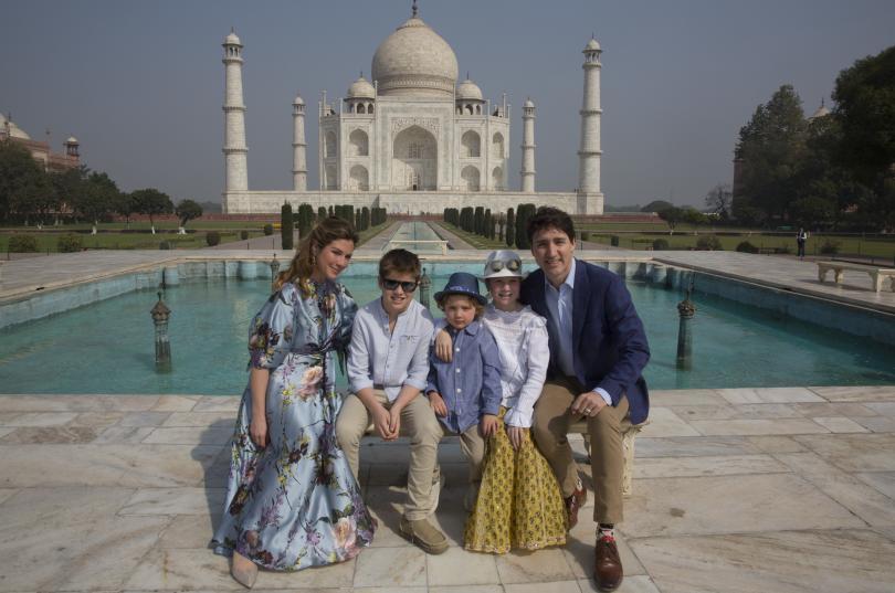 Канадският премиер Джъстин Трюдо започна визитата си в Индия с