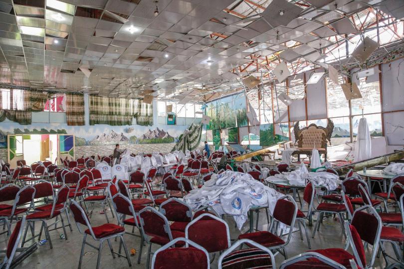 Снимка: 63-ма убити при атентат на сватбено тържество в Кабул