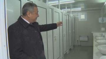 На граничния пункт Калотина вече има тоалетна