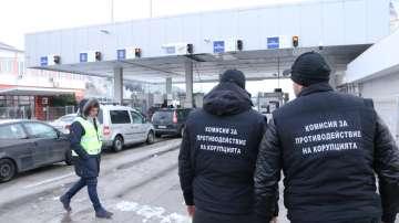 Акция на МВР и прокуратурата на Калотина, има задържани митничари и полицаи