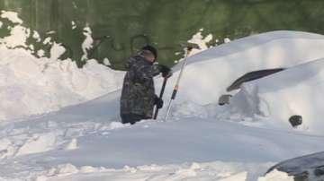 Барети се борят със снега на Камчатка