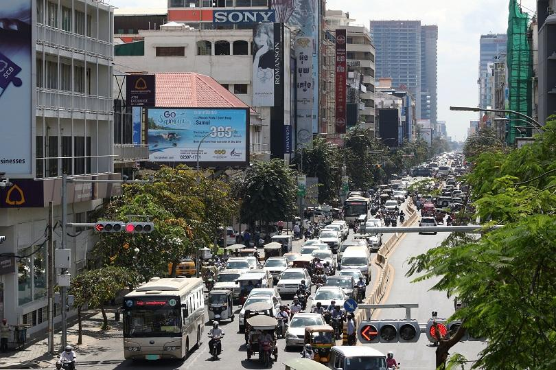 камбоджа отбелязва години падането режима червените кхмери