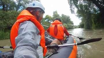 С надуваема лодка по река Камчия за два дни