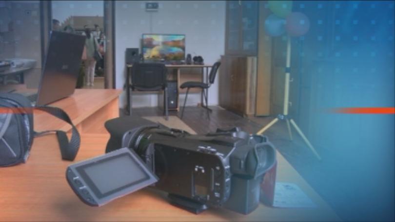 Училище във Велико Търново има свое телевизионно студио